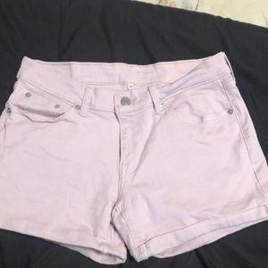 Pink Levi's Denim Shirts